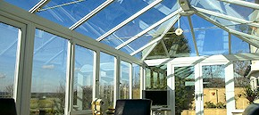 Roof cleaning and conservatory cleaning